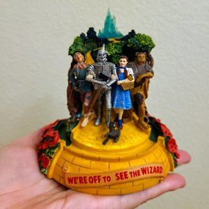 Vintage Franklin Mint Wizard of Oz Music Box